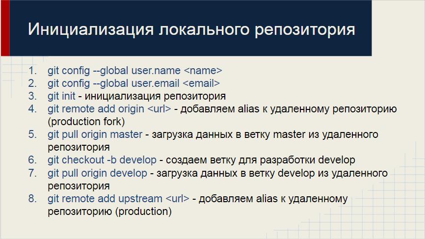 Git-flow в «1С:Предприятие 8»